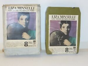Vintage-8-Track-Cassette-Cartridge-Eight-Liza-minnelli-live-at-the-olympia-Paris