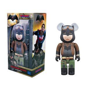 Medicom-Bearbrick-Superman-Dawn-of-Justice-400-Knightmare-Batman-Be-rbrick-New