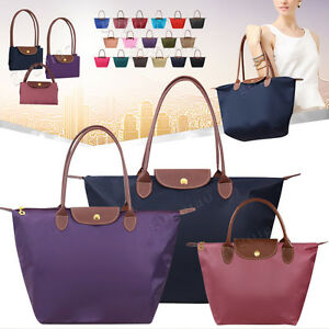 Image is loading Women-Handbags-Shoulder-Bag-Messenger-Bag-Nylon-Waterproof- 54eef86169