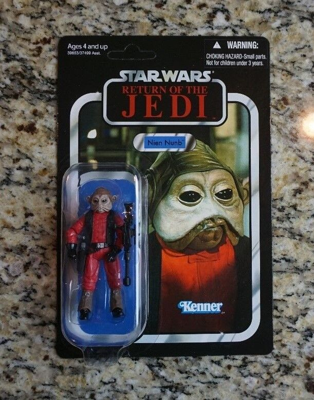 Nien Nunb 2012 STAR WARS Vintage Collection VC106 MOC UNPUNCHED