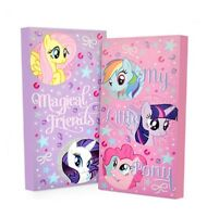 2pc My Little Pony Canvas Wall Art Glow In The Dark Picture Bed Bedding Room Set