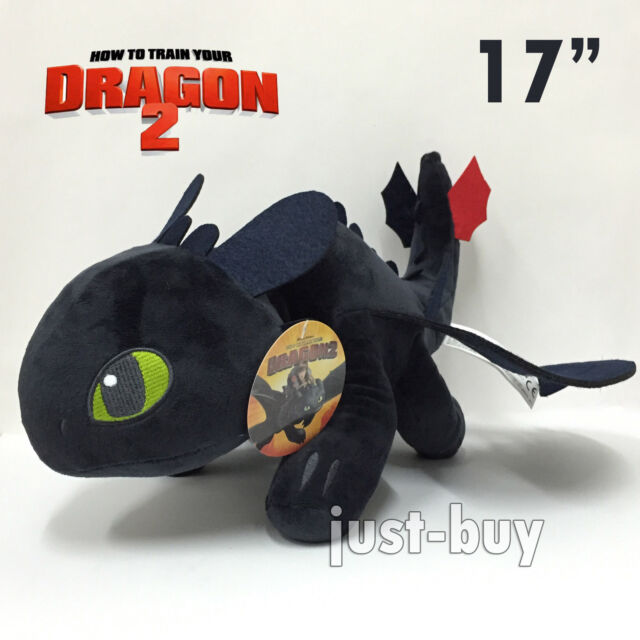 How To Train Your Dragon Toothless Night Fury Stuffed Plush Toy