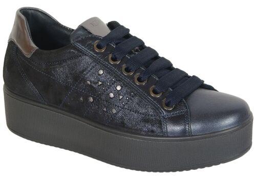 sale igi/&co 41522 sneakers capra bluigi