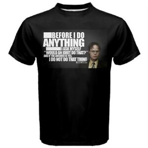 3d8e699f6 The Office Dwight Schrute Quote Funny Men's Sport T-Shirt TEES DS1 ...