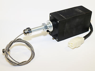 Absteller Abstellmotor Solenoid Stopmagnet Magnetventil 12V ETS Stellmotor