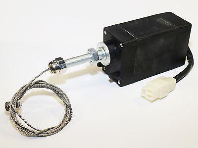Stellmotor Zugmotor Abstellmagnet Zugmagnet Seilzugmotor Absteller 12V ETS