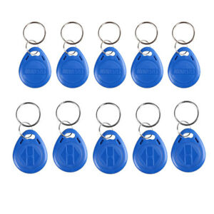 10PCS-RFID-Proximity-Rewritable-ID-Door-Entry-Access-Key-Tag-Fob-125KHz-13-56MHz