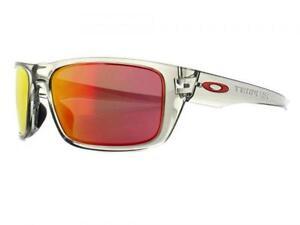 2cb62701820 New Oakley Drop Point Sunglasses Gray Ink Ruby Iridium 9367 0360 ...