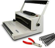 S20a Coil Punch Amp Binding Machine Free Crimper Amp 8mm Plastic Coils Box Of 100pcs
