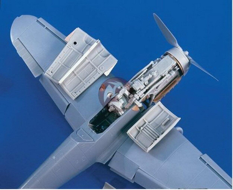 Verlinden 1/32 VP 1809 Motore e Accessori per il Me 109 G-6 per Hasegawa