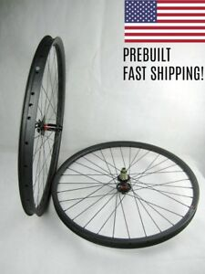29er-Tubeless-Wheelset-Wheels-Carbon-MTB-30mm-or-35mm-TA-or-Boost-XD