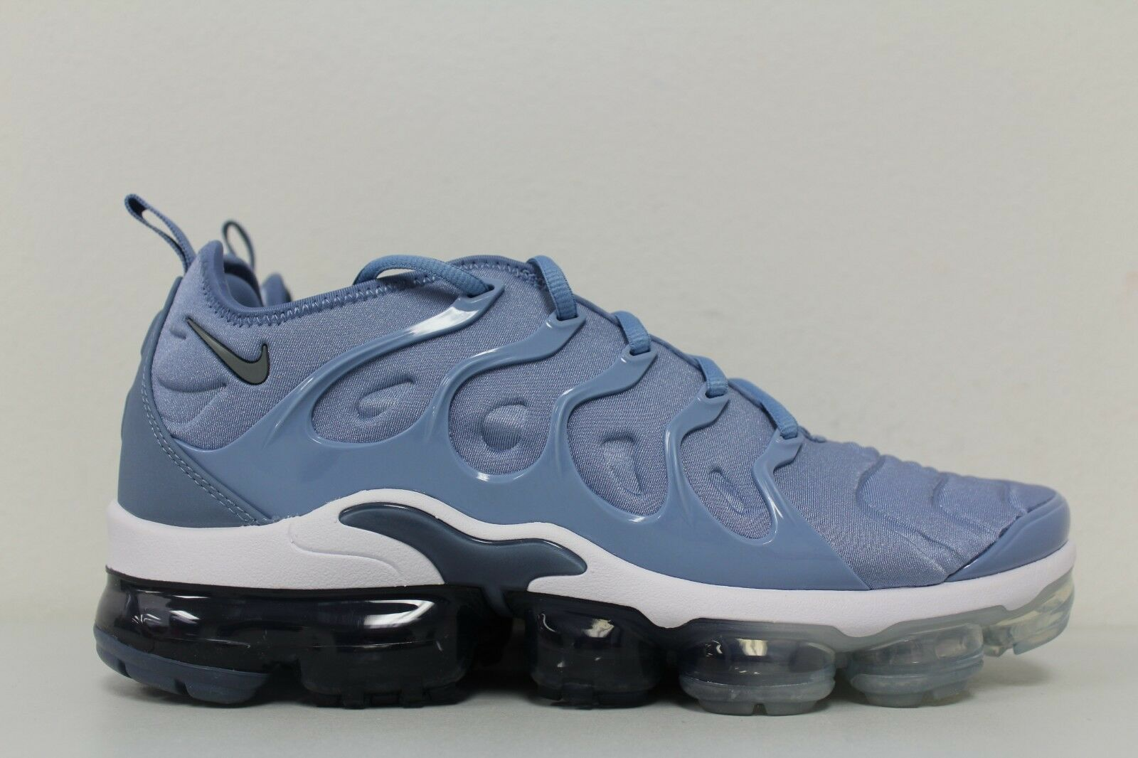 01a0be560a3 Nike Air Vapormax Plus Work Blue Cool Grey 924453 402 Mens Size 10 ...