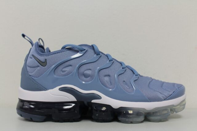 san francisco 00295 9e3fa Nike Air Vapormax Plus Work Blue Cool Grey 924453 402 Men's Size 10