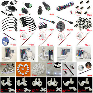 LED-Accessories-4pin-DC-connector-Adapter-extension-cables-for-5050-3528-strip