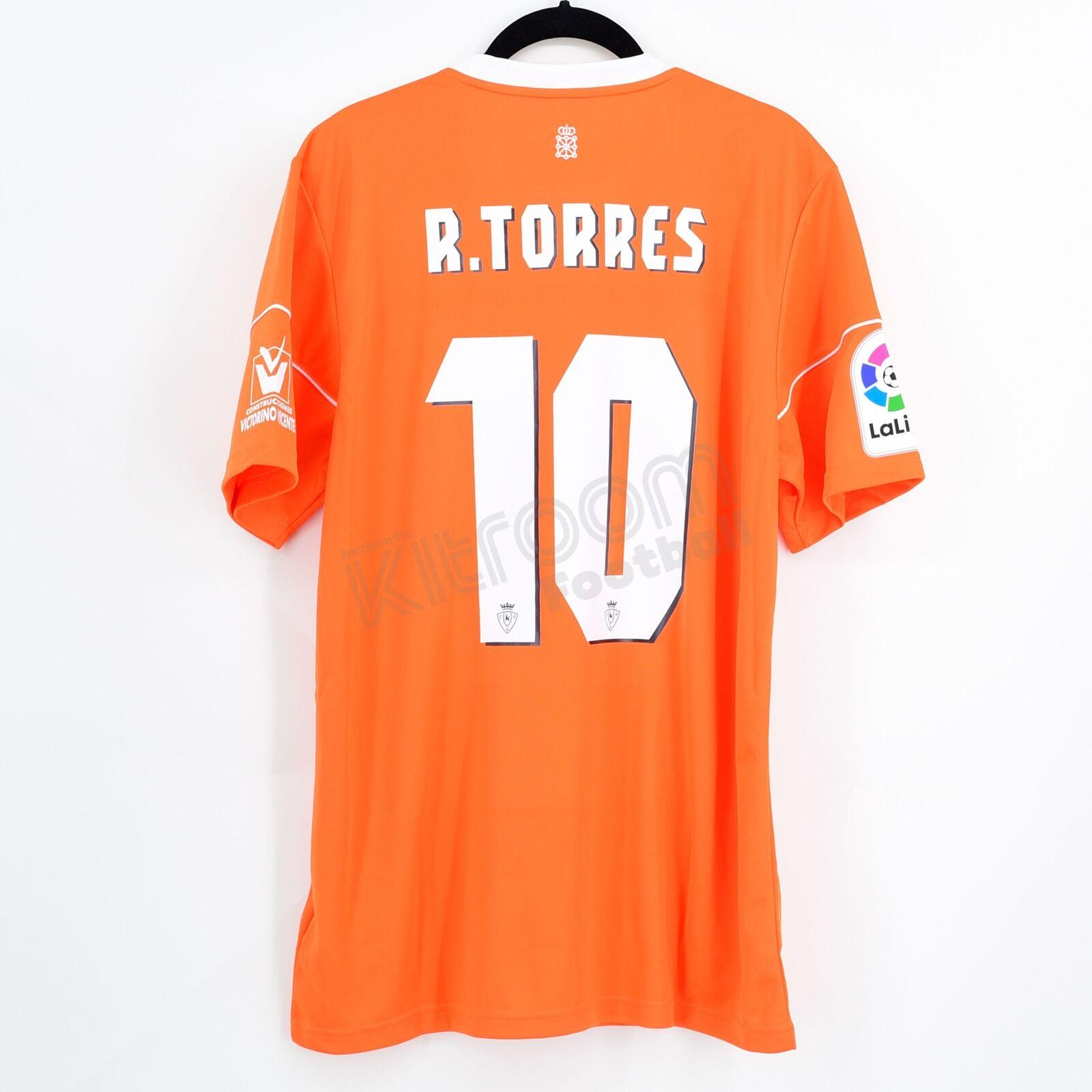 Camiseta 3ª Osasuna 201617 Adidas  10 ROBERTO TORRES  osasunanuncaserinde