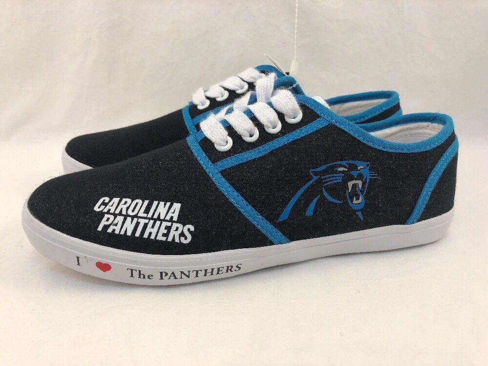 Camiseta de Jersey Carolina Panthers Nº para mujeres mujeres mujeres tamaño 8.5 Zapatos Tenis Bradford Exchange Nfl  descuento de ventas en línea