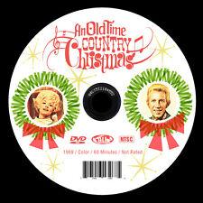 Dolly Parton Loretta Lynn Porter Wagoner AN OLD TIME COUNTRY CHRISTMAS 1960s DVD