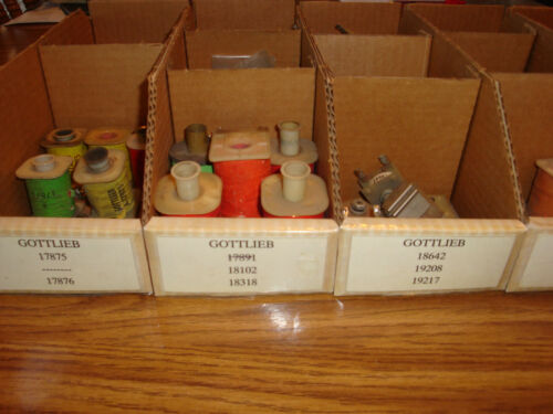 Cheap Ship! You Choose Which One Good Used Coils Gottlieb Pinball Solenoids