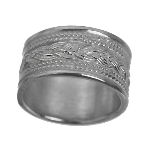 New Sterling Silver 925 CELTIC INFINITY KNOT Ring Band Weave Jewelry Pick Size
