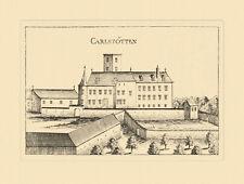 Karlstetten Carlstötten Mostviertel Vischer Österreich Burgen und Schlösser 672