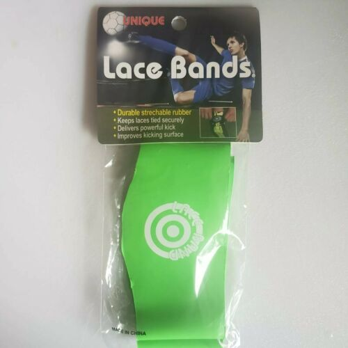 Details about  /Unique Sports Lace Bands Soccer Football Lacrosse Cleat Lace Cover Neon Green