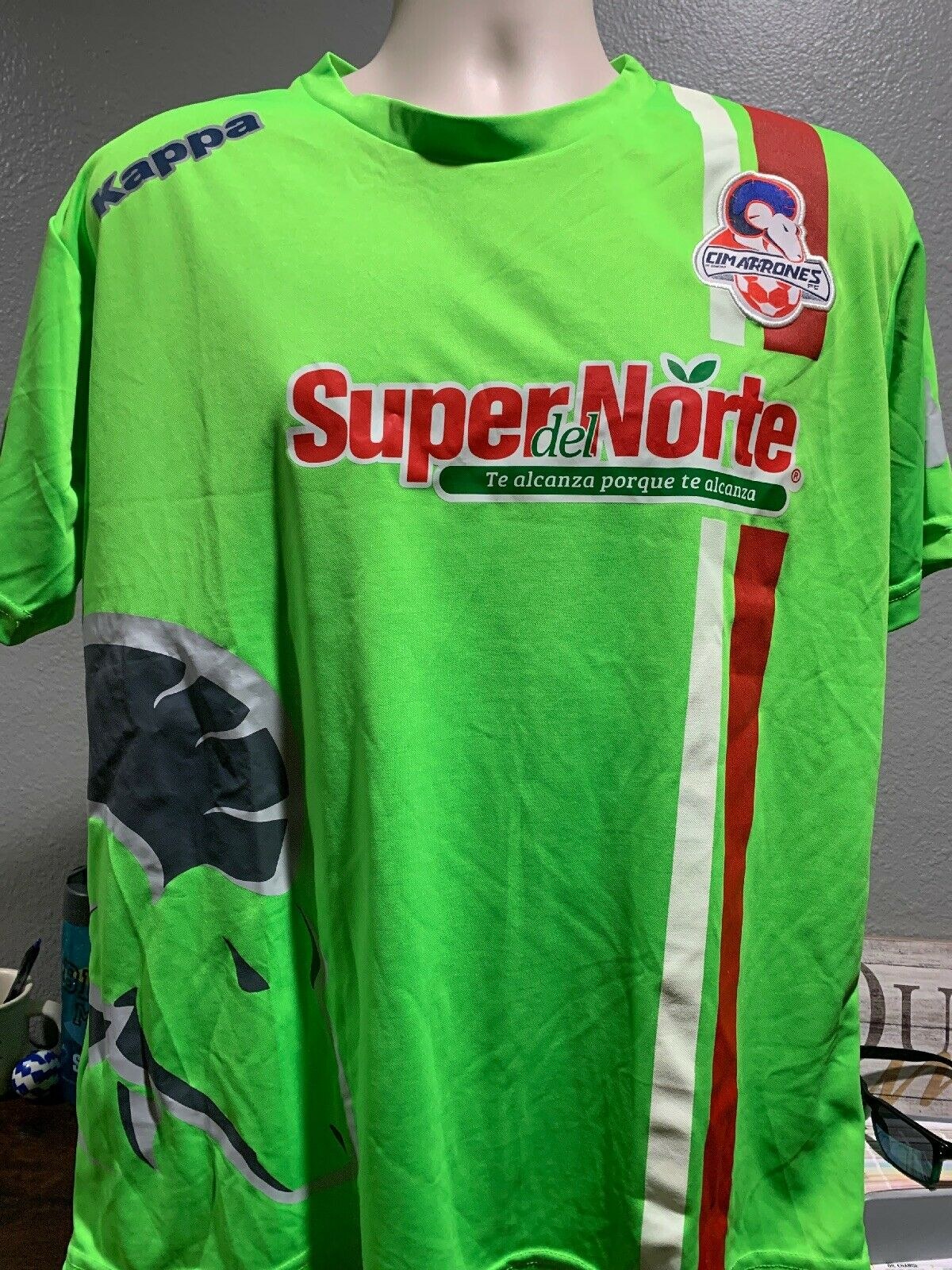 Kappa cimarróns FC Liga Ascenso Mx Original Grande Envio Gratis