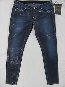 Jeans 887150967281 Taille True Skinny Imprimé Nwt naturel Point 30 à Religion chevrons 233 q7RFHx7EA