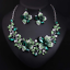 Fashion-Bib-Choker-Crystal-Pendant-Statement-Necklace-Earrings-Party-Jewelry-Set thumbnail 8