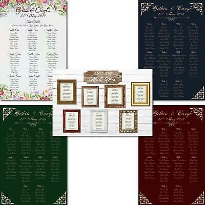 A1 Personalizzato Wedding Planner A Sedere Tavolo Riunione Piano-