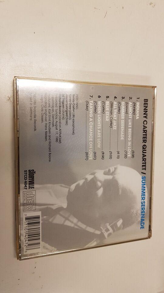 Benny Carter quartet: Summer serenade, jazz