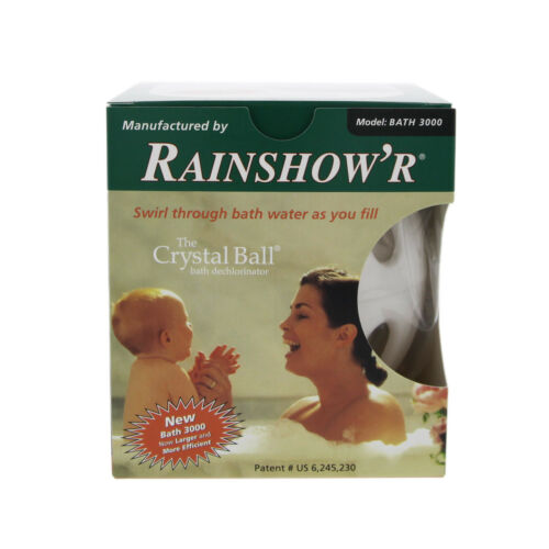 Rainshower BATH-3000 Dechlorinating KDF-55 Quartz Crystal Bath Ball
