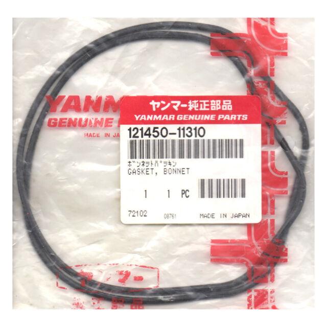 Genuine Yanmar Marine 3GM30 Engine Rocker Cover Bonnet Seal Gasket 121450-11310