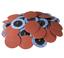50PC-2-034-50grit-Roloc-Aluminum-Oxide-Roll-Lock-Sanding-Disc thumbnail 1