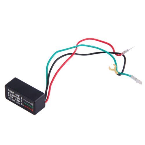 1PCS Motorcycle Universal Blinker Relay 3 Pin 12V LED Turn Signal Light Flasher