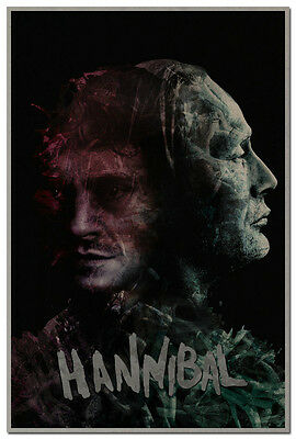 Hannibal Season 3 TV Series Art Canvas Poster 12x18 24x36 inch