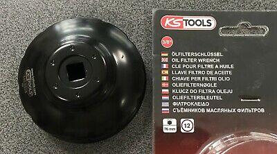 KS Tools 150.9338 Cl/é pour filtre /à huile 76 mm