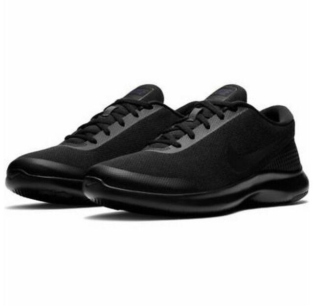 Nike Flex Experience RN 7 WIDE 4E AA7405 003 Blue Black Mens