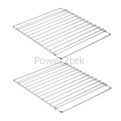 2 x Morphy Richards Universal Adjustable Oven//Cooker//Grill Shelf Rack Grid UK