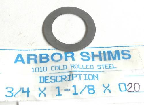 Arbor Shim Washer Stock Steel Spacer .025 NEW Material bushing sleeve bearing