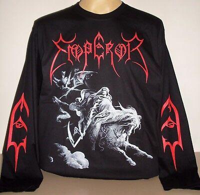 Noir Black Plastic Head - XX-Large T-shirt Homme Emperor Rider 2005