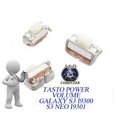 TASTOSWITCH TASTINO PULSANTE POWER VOLUME Per SAMSUNG GALAXY S3 i9300 NEO i9301