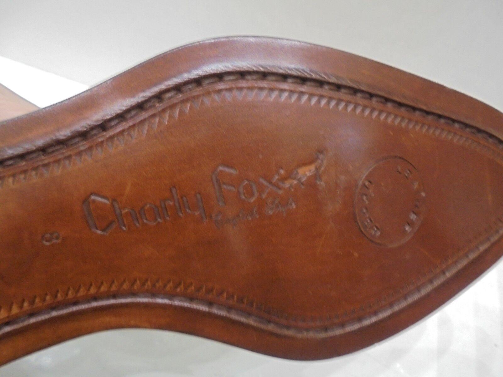 Scarpe Scarpe Scarpe Uomo Charly Fox Alta Qualità Pelle Marrone Eleganti con lacci 47332f