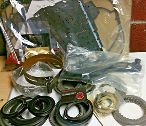 Details about 4T40E 4T45E Super Master Rebuild Kit Bonded Pistons Steels  Bands Bushings Filter
