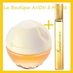 Set Eau De Parfum Incandessence Bottle Of Bag 10 Ml By Avon Ebay