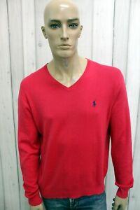 RALPH-LAUREN-Maglione-Uomo-Taglia-L-Cotone-Casual-Pull-Pullover-Sweater-Man