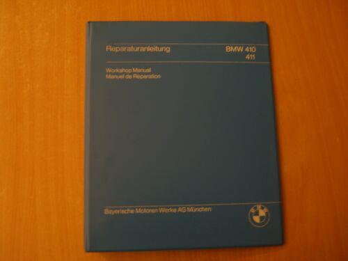 BMW MARINE engine 410 411 workshop service shop repair manual Werkstatthandbuch