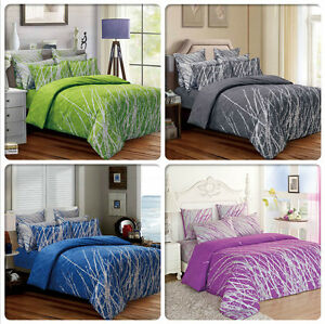 TREE-Double-Queen-King-Super-King-Size-Bed-Duvet-Doona-Quilt-Cover-Set-New