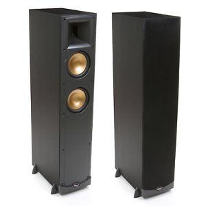 Klipsch Reference RF-600 Floorstanding/Tower Speakers (1 Pair, Black). Brand New