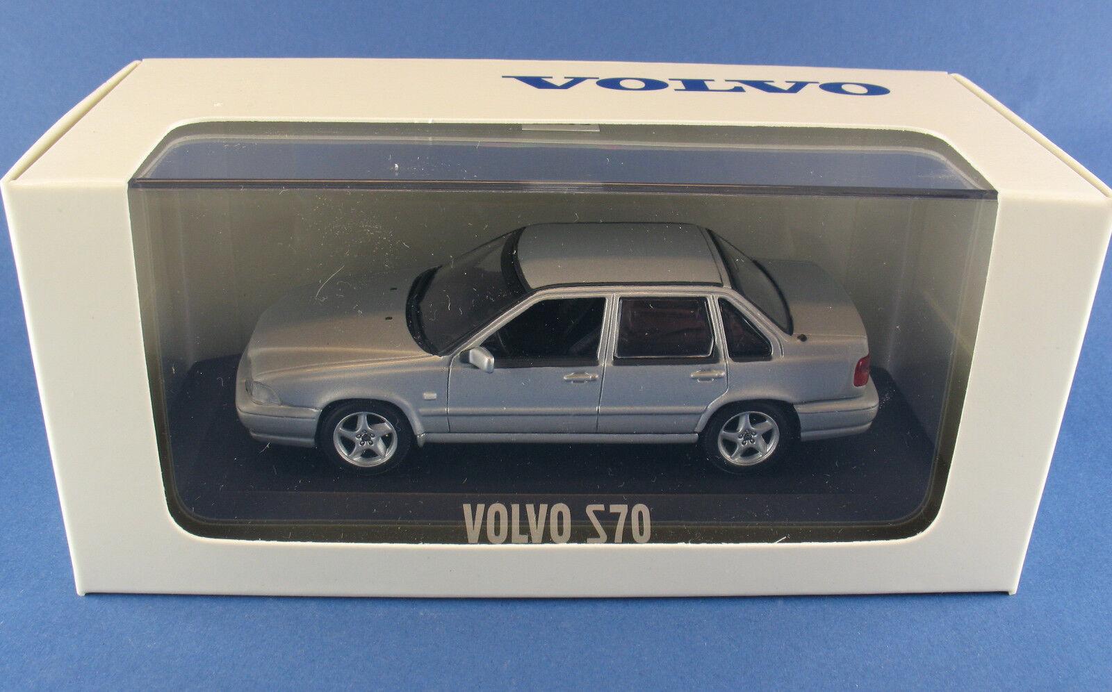 Minichamps-Volvo s70 s70 s70 Limousine-Argent-Silver 1:43 Dans NEUF dans sa boîte-voiture miniature | Fabrication Habile  ee8c59