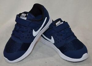 deb7b3cd9aaf Nike Downshifter 7 (TDV) M-Navy White Toddler Boy s Shoes-Size 5 6 7 ...